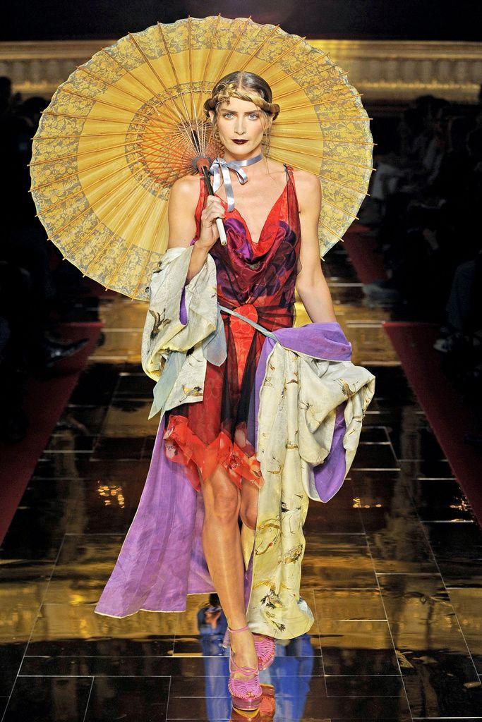 John Calliano Summer 2011 Collection-11 - Kimono Inspired Fashion