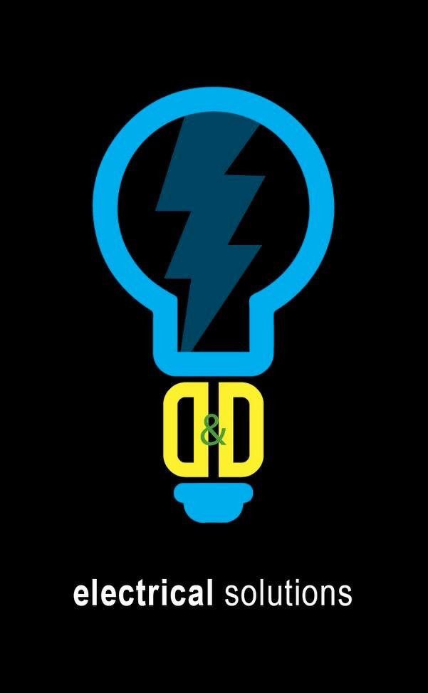 custom and original logo design electrician logo created