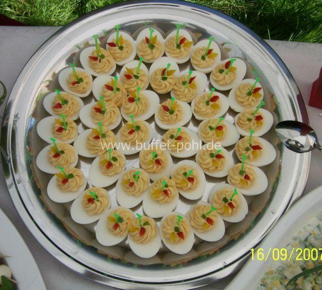 Für gefüllte buffet eier kaltes Gefüllte Eier