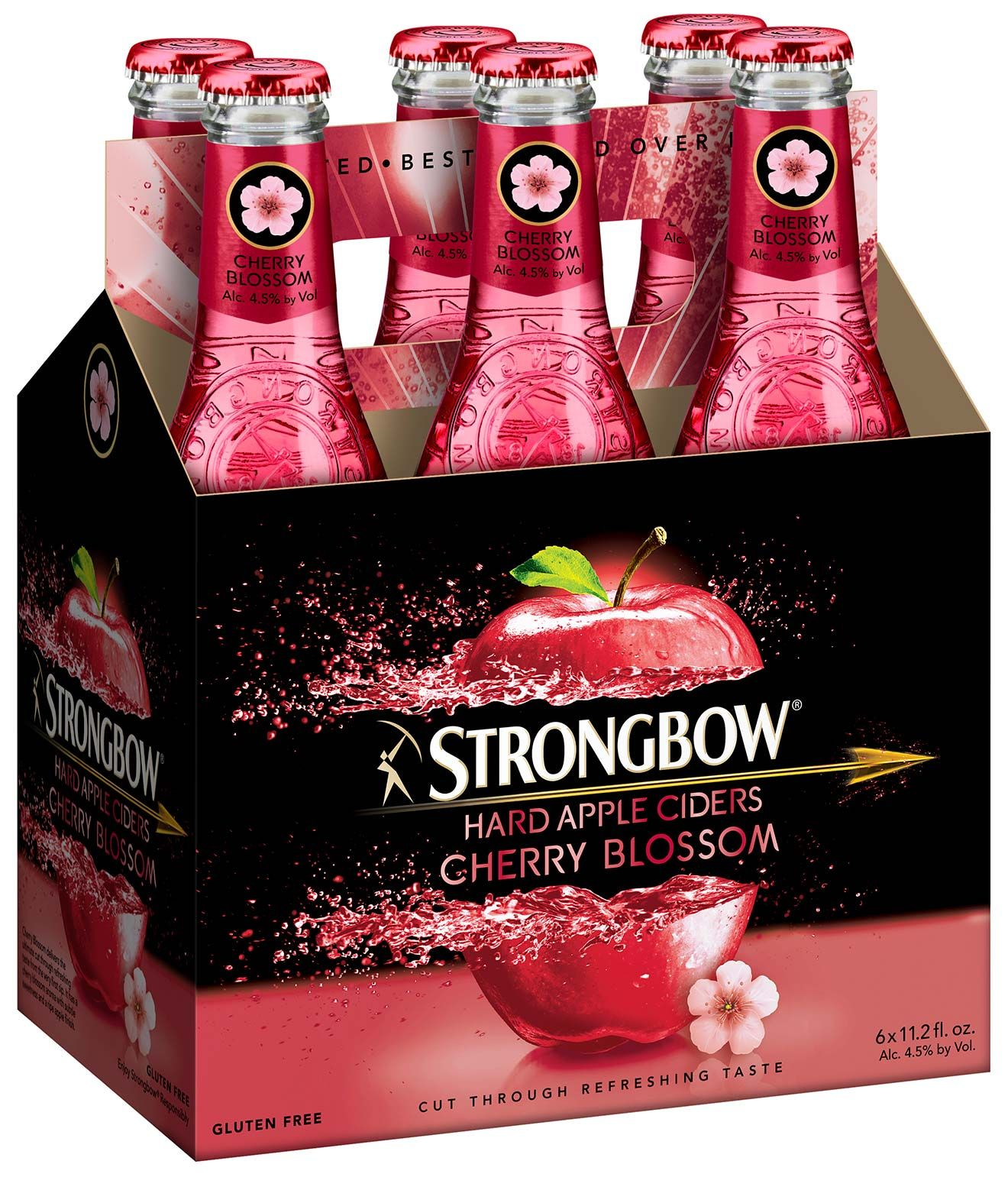 Strongbow Launches Cherry Blossom Hard Cider Hard Apple Cider Hard Cider Cider