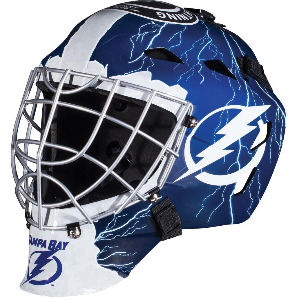 Franklin sports gfm 1500 nhl tampa bay lightning goalie