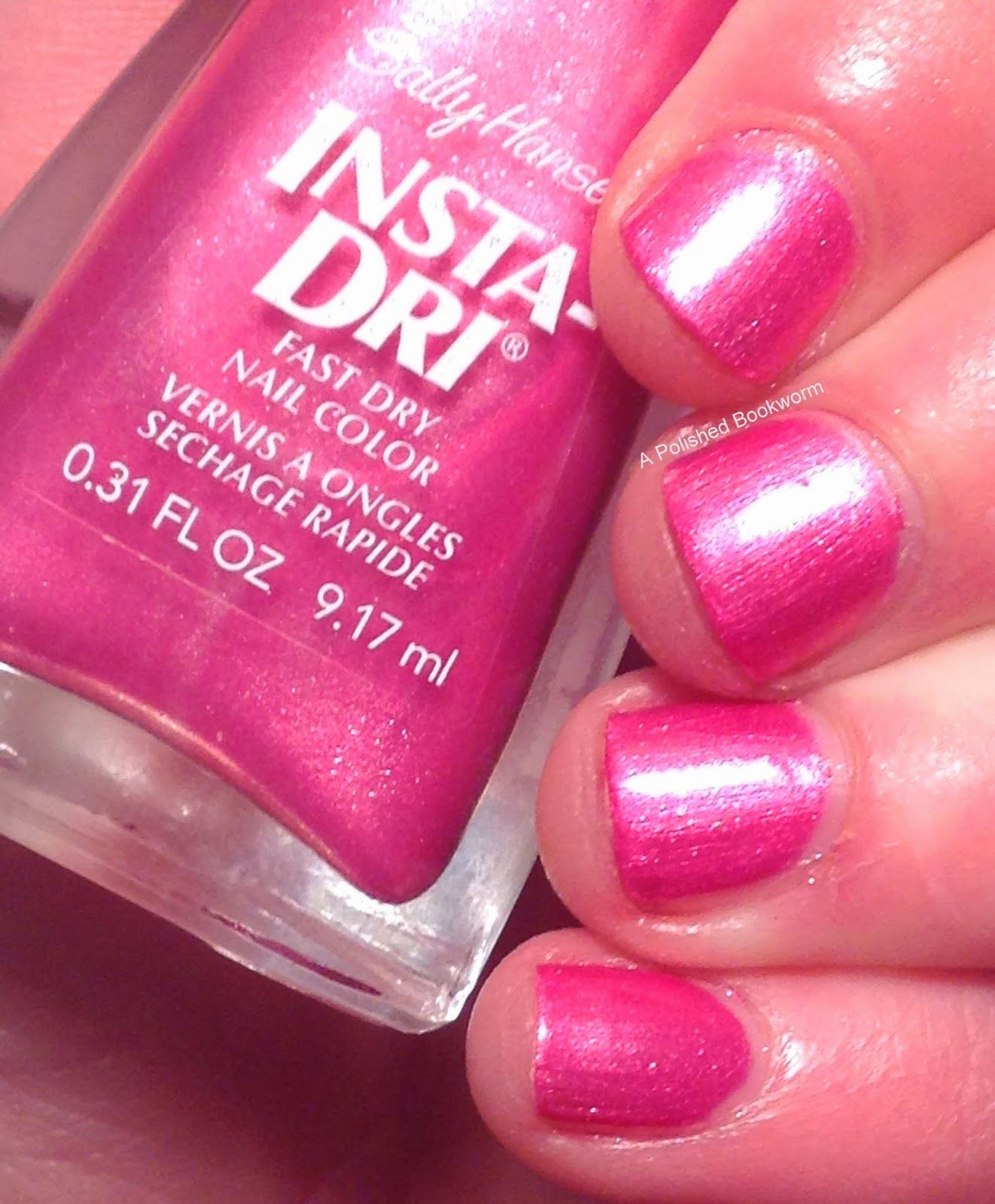 Sally Hansen Pumped Up Pink Dry Nails Fast Nails Pretty Nails