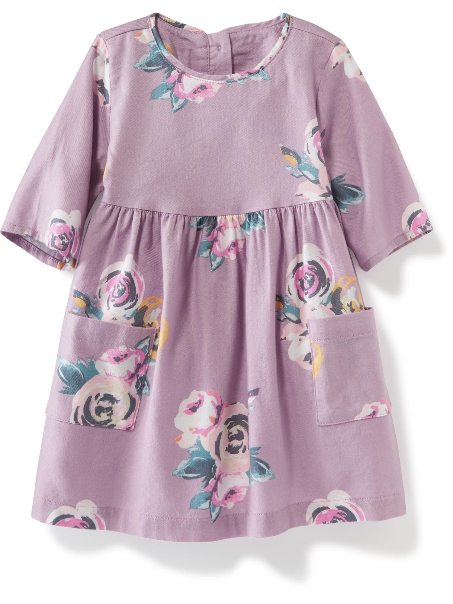 Double Pocket Twill Dress for Baby Old Navy Oh baby