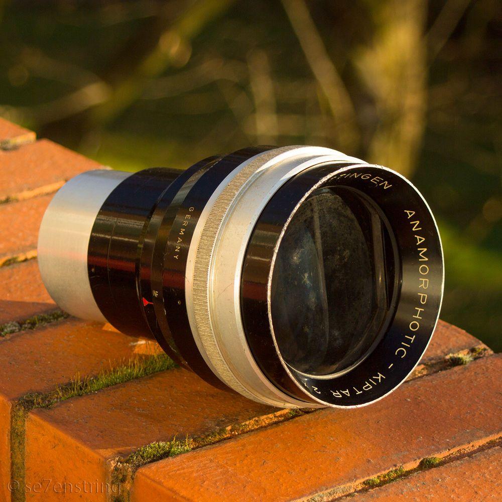 Isco 2x Anamorphic Lens Anamorphotic Kiptar 35mm Full Frame Cine ...
