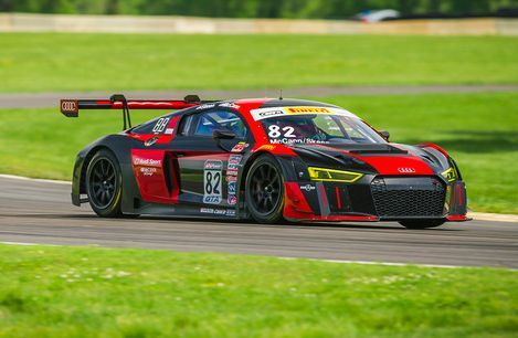 Charlotte's Mike Skeen Takes Audi to the SprintX Pole Saturday in Pirelli World Challenge Nissan Grand Prix of VIR Qualifying  Tom Blattler, Pirelli World Challenge  Re: #Audi #R8  http://www.carsandracingstuff.com/library/articles/37601.php
