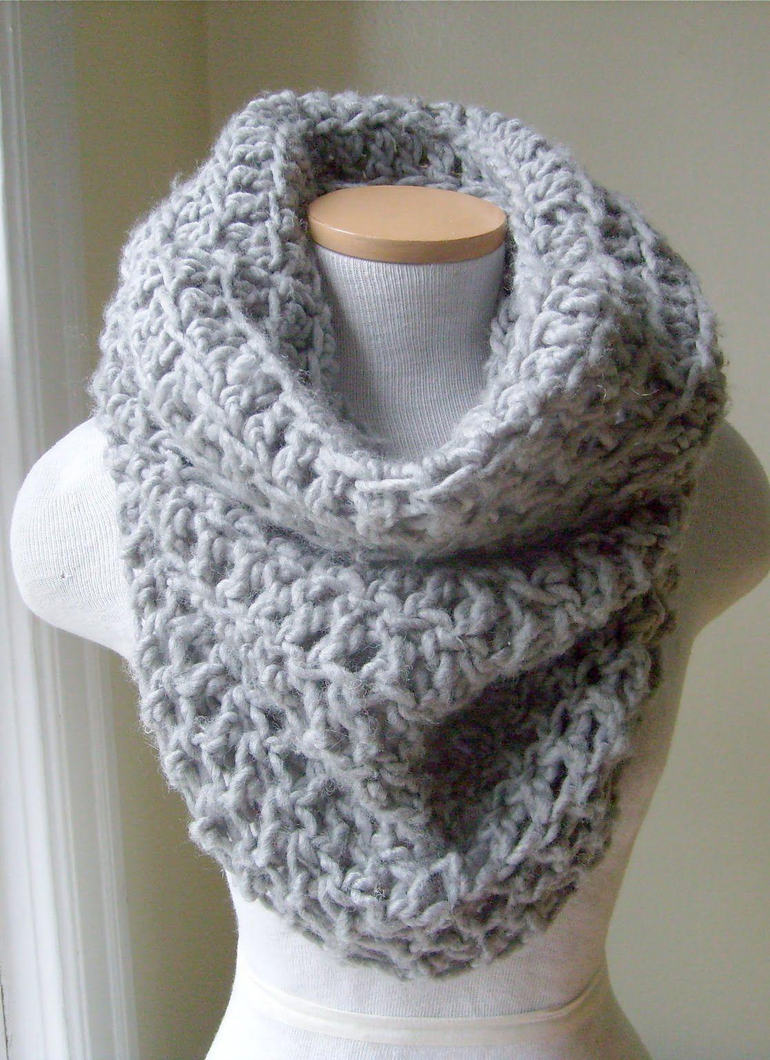 Knitting Cowl Scarf : Crochet cowl pattern crocheted neckwarmers