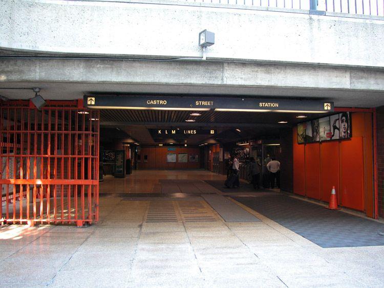 castro station san francisco | Castro Muni Station, at Castro Street and Market