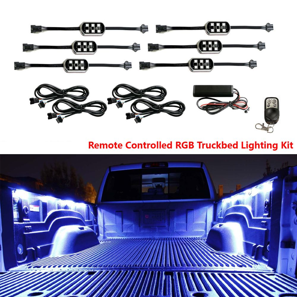Colored Led Car Interior Underbody Neon Lights For Pickup Truck
