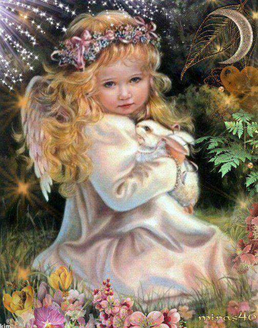 Beautiful Child Angel | Änglar, Teckningar och Feer