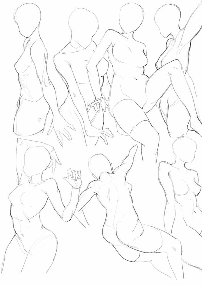 Female anatomy | draw something... | Pinterest | Anatomy, Pose and ...