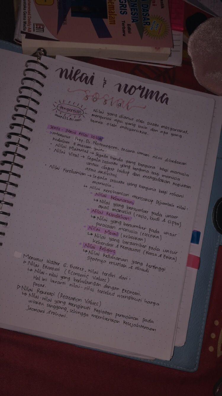 Handwritting Belajar Buku Pelajaran Pendidikan Seni