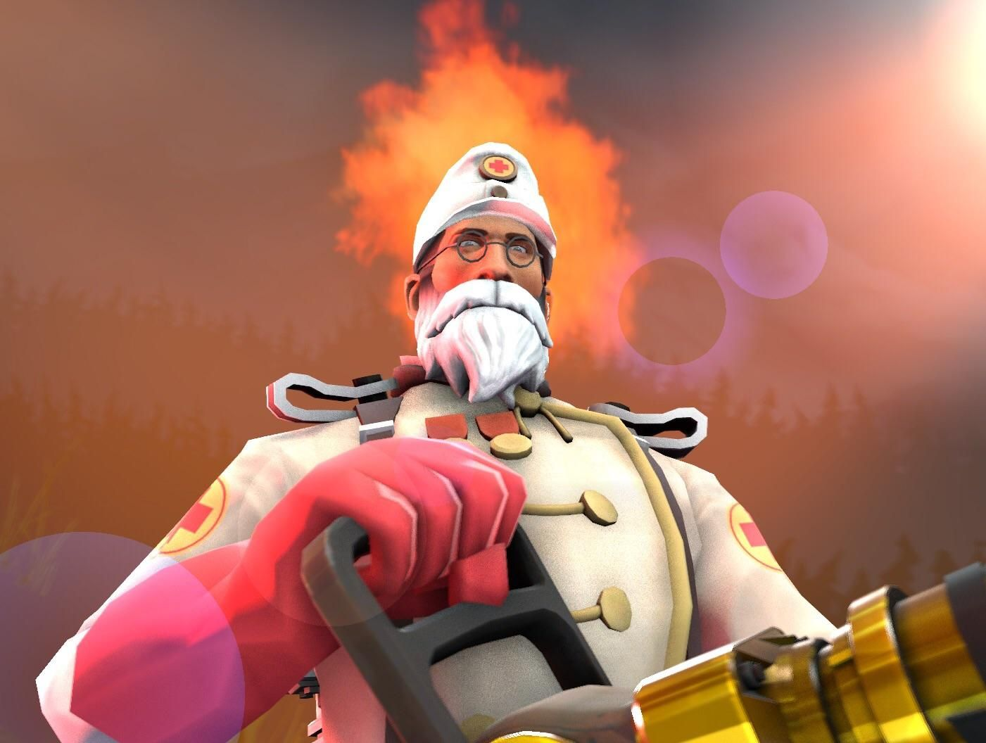 Commissioned a custom SFM profile picture from Sagerz with my medic