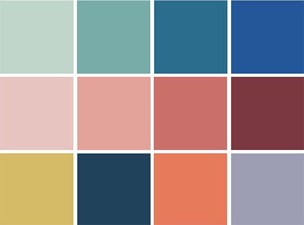 4 Color Trends 2018 By Dulux Escapade Color Palette Via