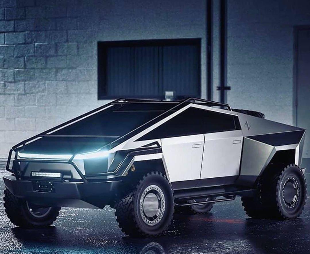 Cyber Truck Tesla Tesla Trucks Dream Cars