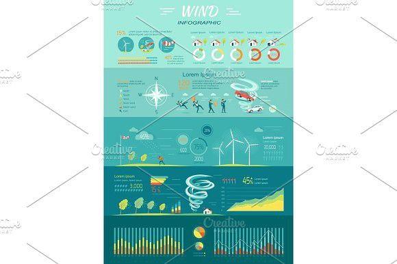 Wind Graphics Tornado Hurricane Renewable Energy Infographic Infographic Templates Energy