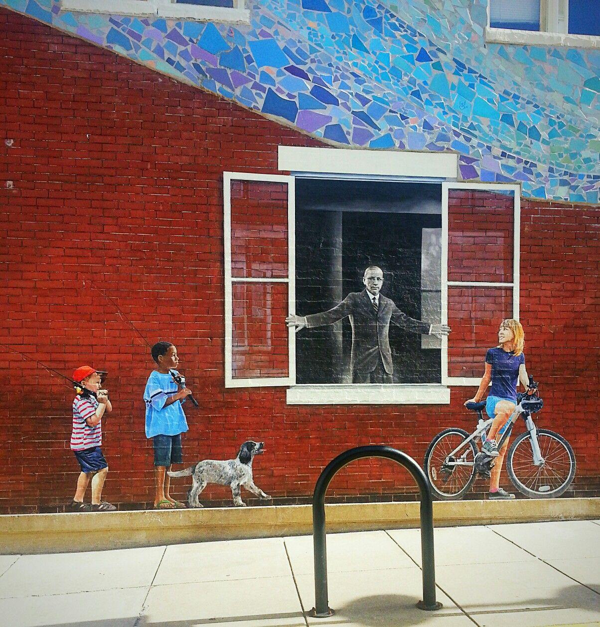 Street Art located in Brunswick, Maryland