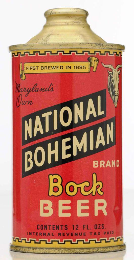 National Bohemian Bock Beer Baltimore 38800