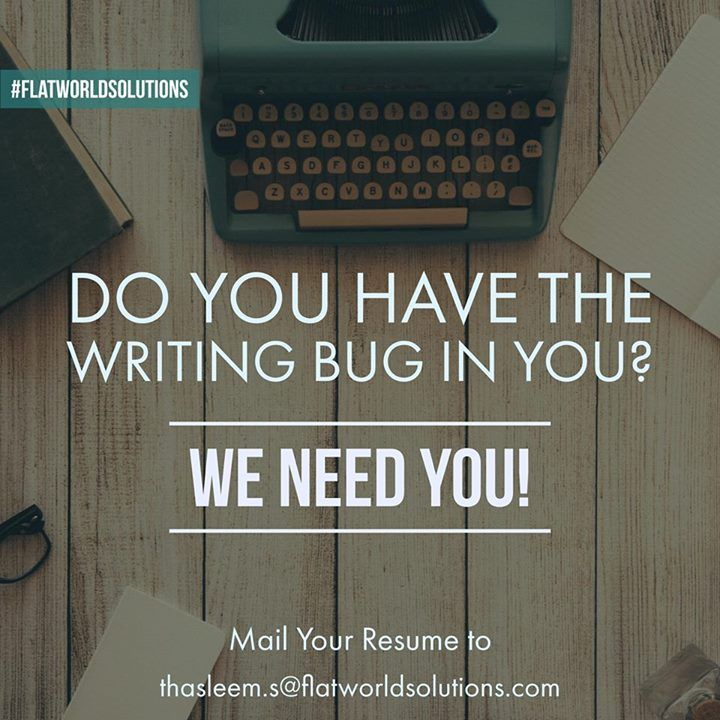 We are looking for a prolific and talented senior content writer - content writer resume