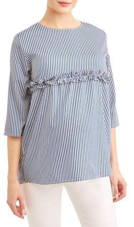 b4528a5112925 Planet Motherhood Maternity Chambray Stripe Top in 2019   Products ...