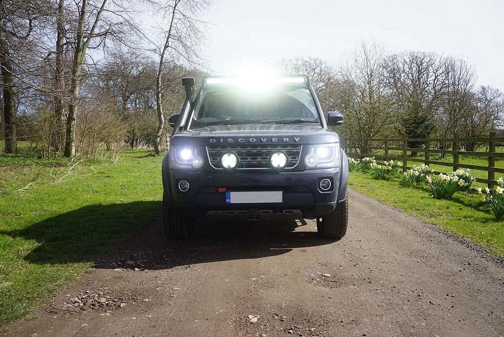Prospeed D4 Custom Light Bar Mount Land Rover Land Rover Discovery Custom Lighting