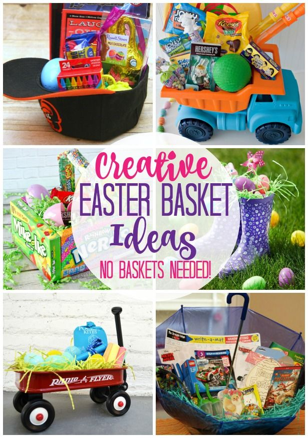 Creative easter basket ideas no basket needed creative easter creative easter basket ideas no basket needed negle Images