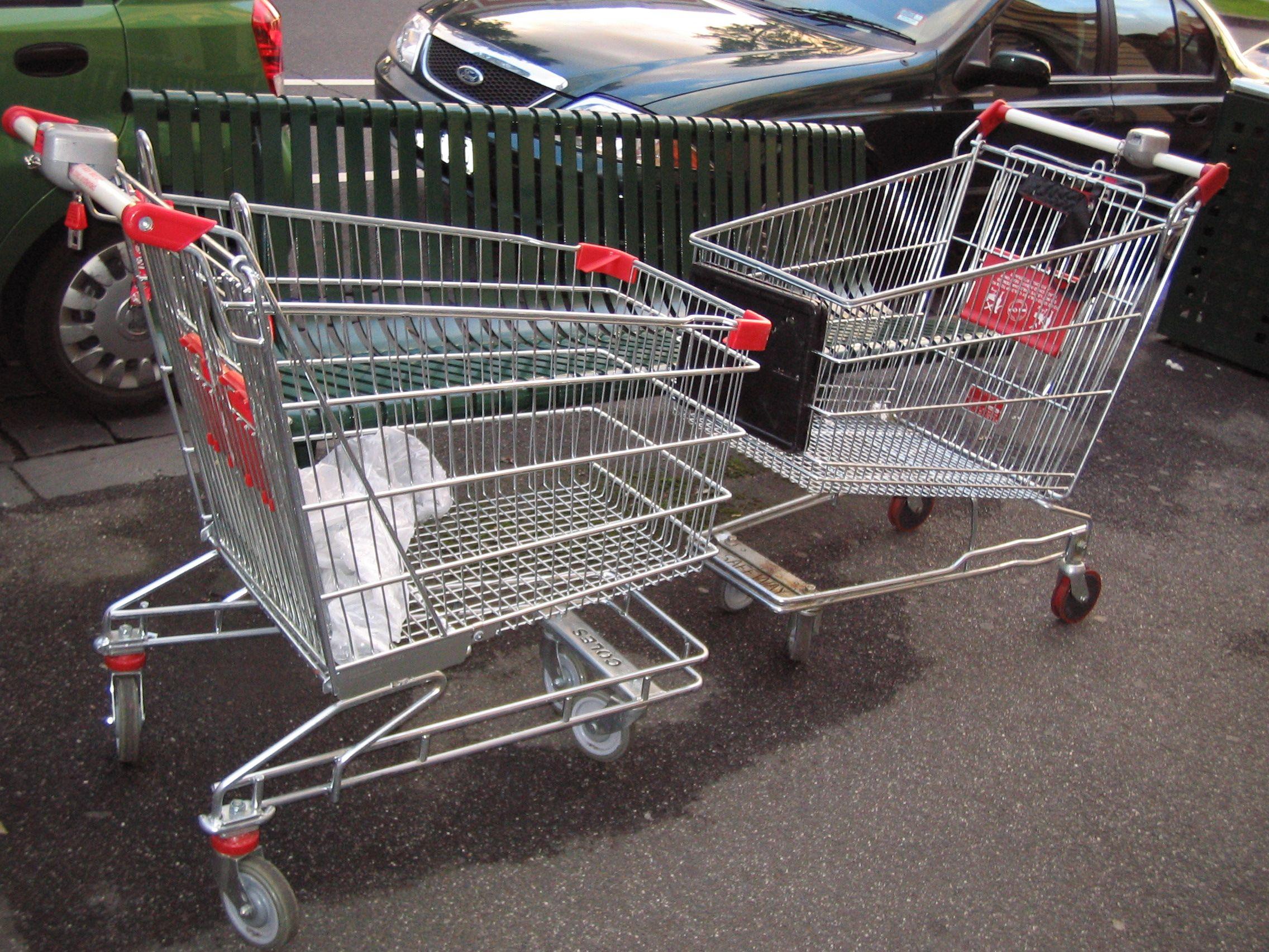 Supermarket Trolley Romance In Melbourne