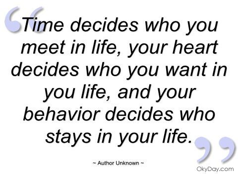 Life Quotes Unknown Amusing Time Decides. Great Quotes & Sayings  Pinterest  Unknown
