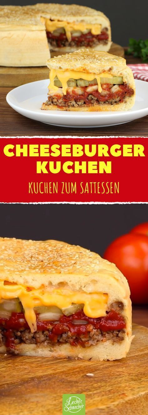 Photo of Cheeseburger recipe for a hearty XXL cake. He doesn't just look stunning …