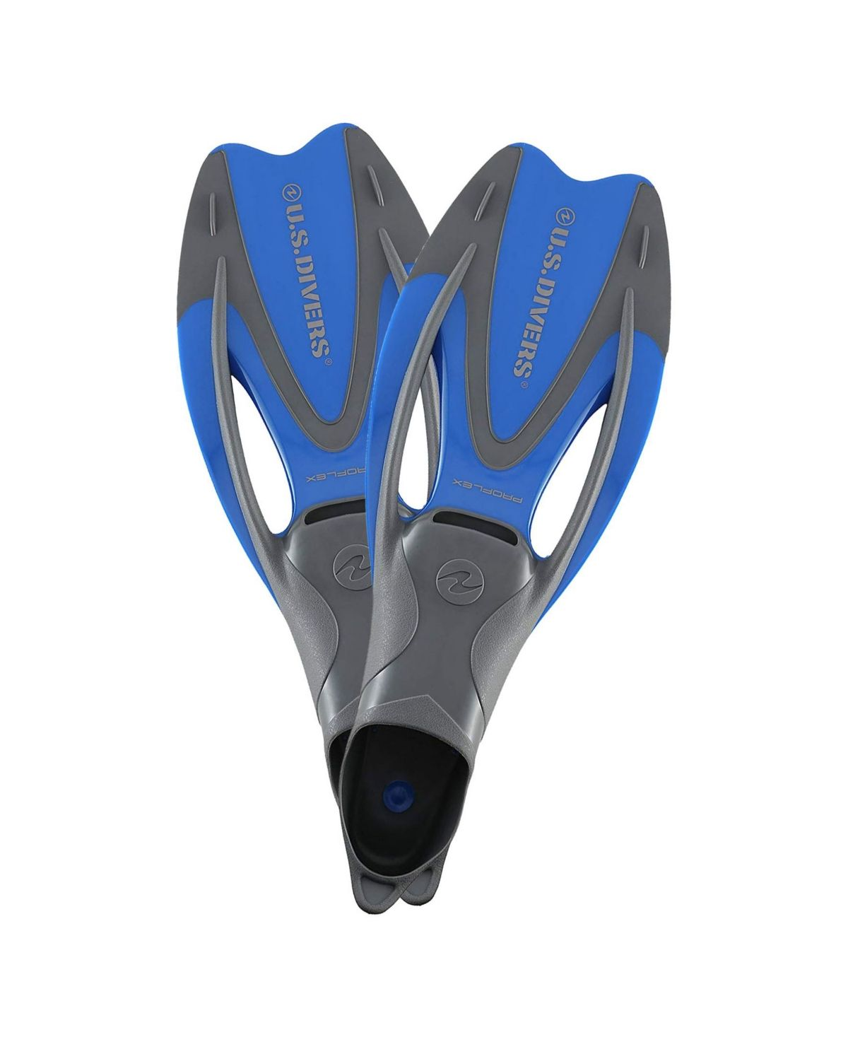 Get around easily underwater with the U.s. Divers Proflex Ii Enclosed Heel Diving Fins. The buoyant composition and full-foot design offer a great fit for size medium and large 8-9.5. The U.s. Divers Proflex Ii Snorkel Fins are specifically designed for snorkeling and diving.