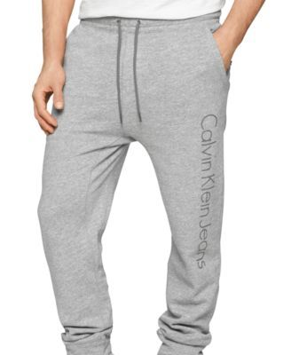 Calvin Klein Jeans Logo Knit Joggers in 2020 | Track pants