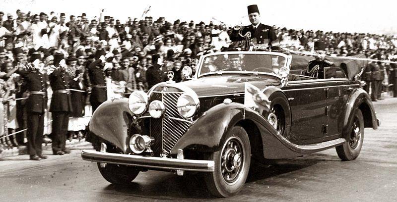 السيارة التي أهداها هتلر للملك فاروق