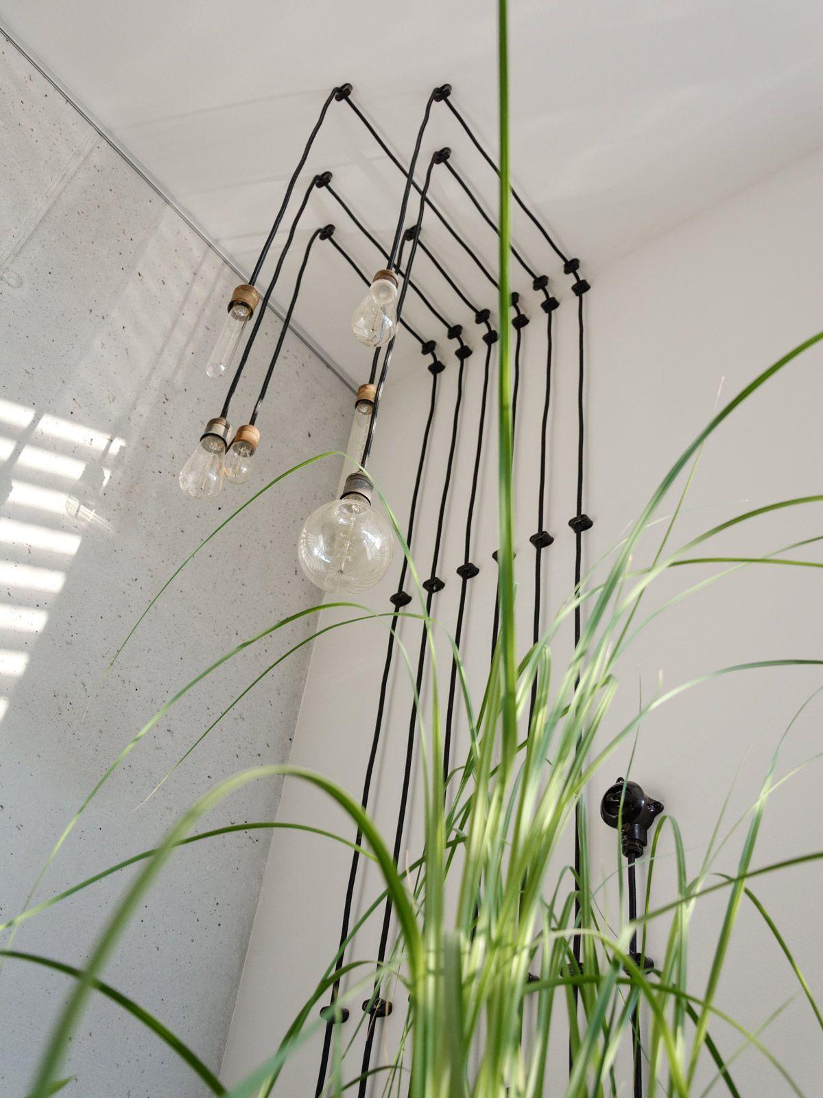 Lichtinstallation mit Kohlefadenglühbirnen - Lichtideen | mx ...