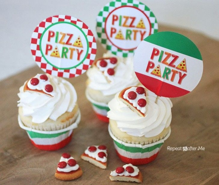 Pizza Cookies Joint birthday parties Boy birthday and Birthdays