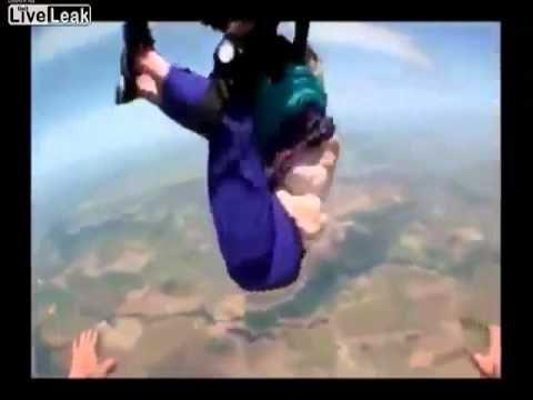Granny Skydive Fail Bad Grandma Skydiving Old Granny