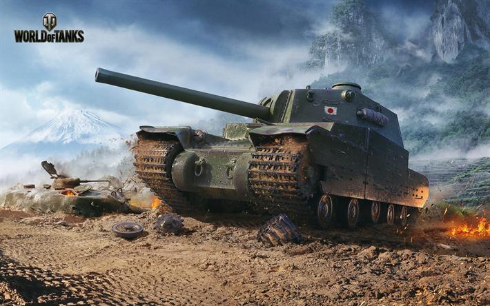 Download wallpapers World of Tanks, World War II, Type 5