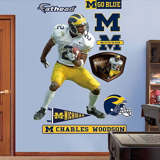 super popular 14e2c 1c35e Charles Woodson - No. 2, Michigan Wolverines If only it was ...