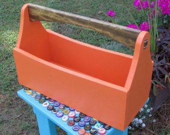 Astonishing Wood Tool Box Tool Tote Tool Caddy Garden Tote Toolbox Creativecarmelina Interior Chair Design Creativecarmelinacom