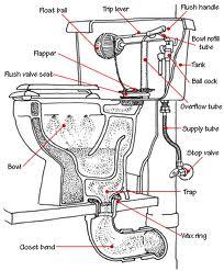 How Does A Toilet Work Toilet Basics 101 In 2020 Plumbing Installation Diy Plumbing Toilet Repair