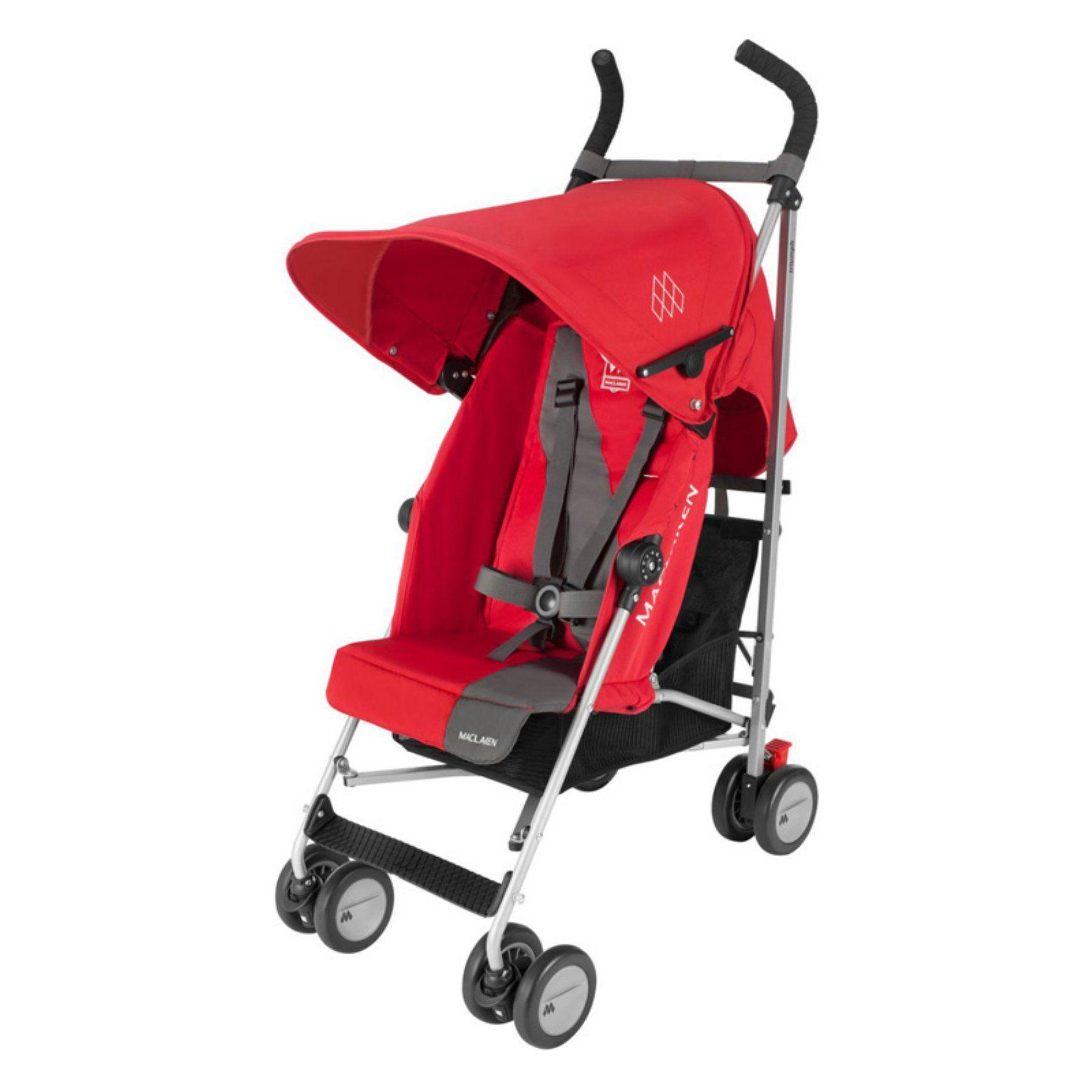Maclaren Triumph Lightweight Stroller Cardinal Charcoal WM1Y