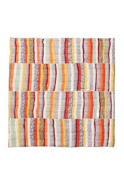 Colorband Quilt - anthropologie.com