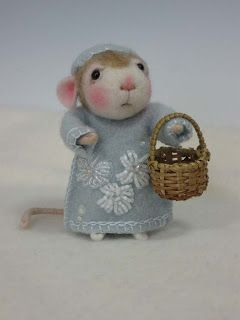 Needle Felting / Needle Felted Creations By Barby Anderson: January 2011 #feltcreations