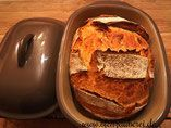 Familienkruste - Brot aus dem Ofenmeister von Pampered Chef® #onepanchicken