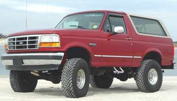 94 Bronco Lift Kit Ford Bronco Bronco Ford Trucks
