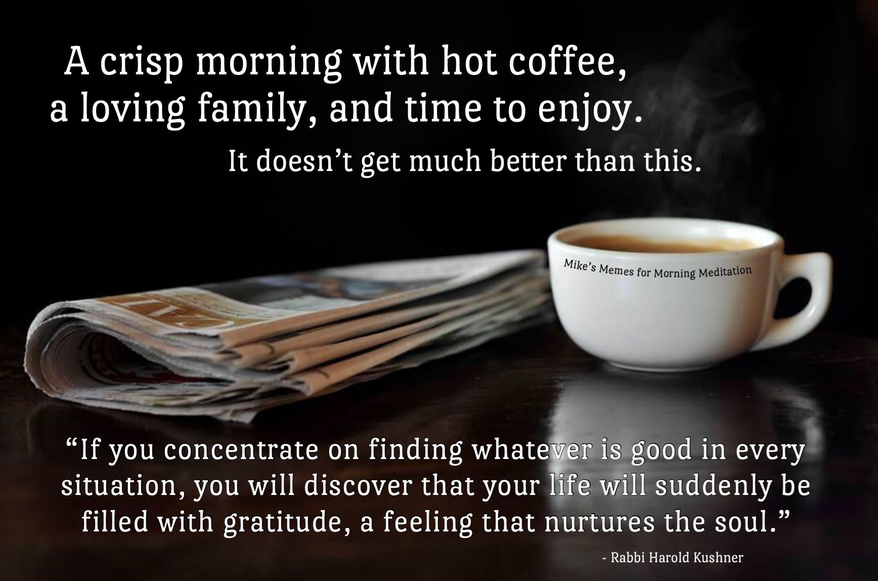 Pin about Morning meditation on Mike's Coffee Memes for