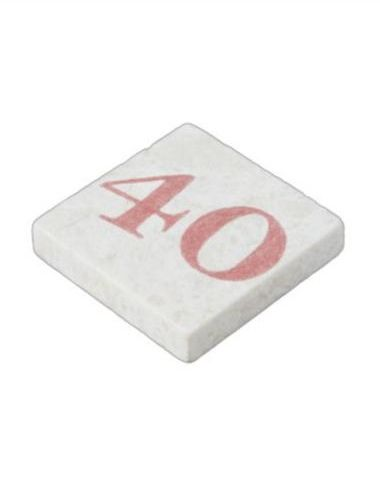 40 years anniversary stone magnet $7.70 *** forty - 40 year - 40 year wedding anniversary - 40 birthday - 40 anniversary - years - birthday - anniversary - wedding - 40 year old - 40 number - celebration - old - age - number - year - party - stone magnet