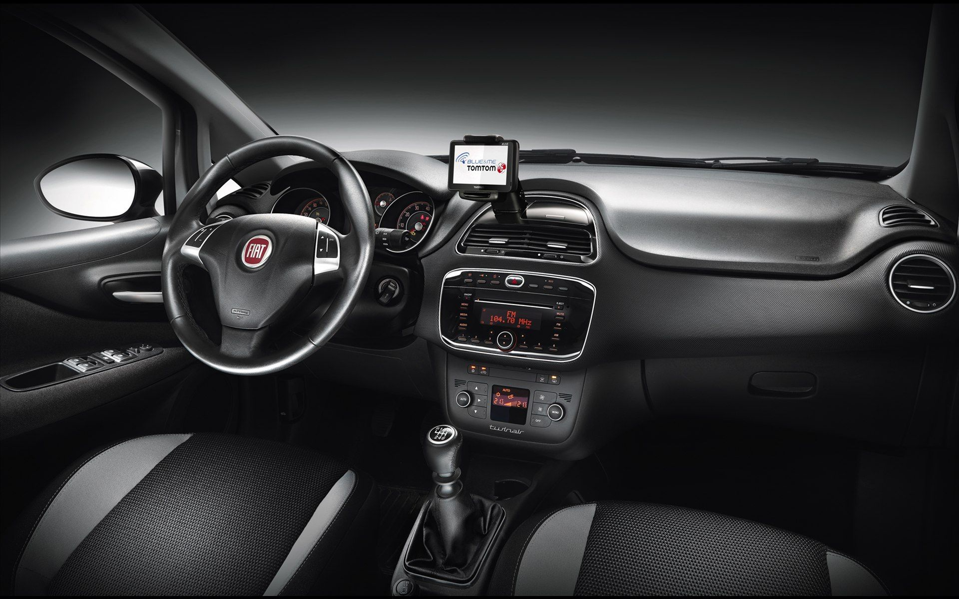 Fiat Punto 2012 Interior 2 Jpg 1920 1200 Fiat Fiat Cars Fiat