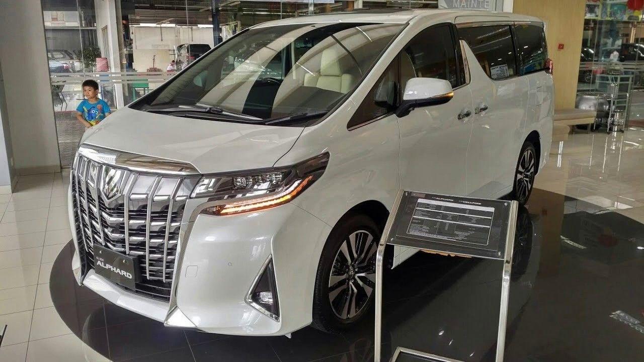 2019 Toyota Alphard New Exterior And Interior Design