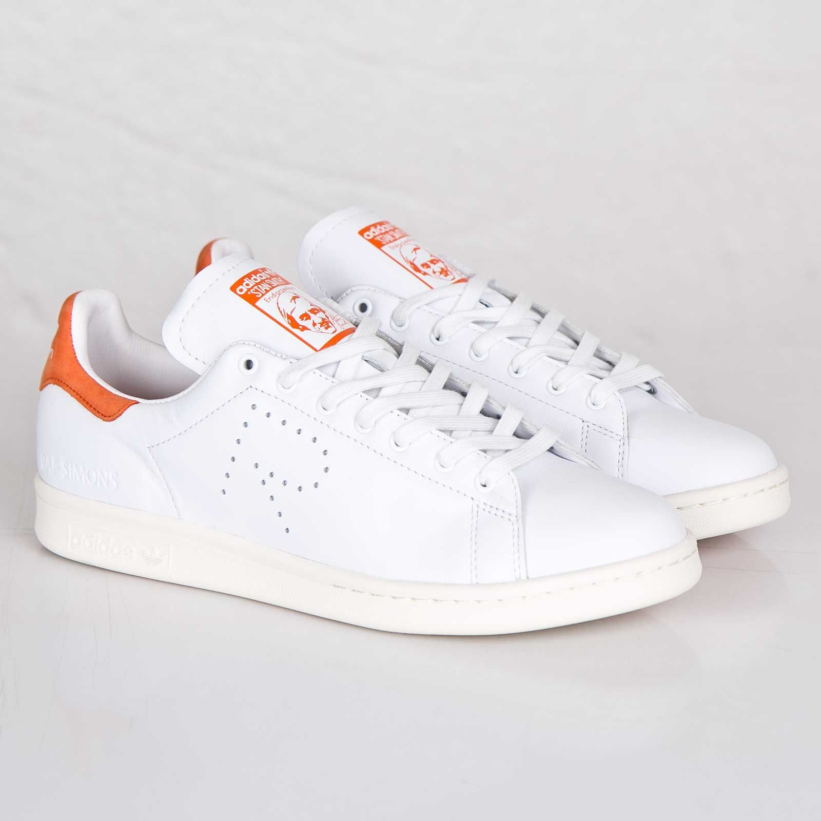 detailed look 37605 2a57e Adidas Originals Raf Simons Stan Smith  Orange .