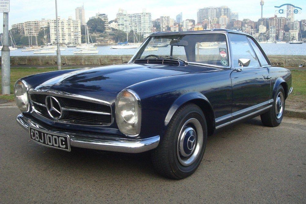 1965 MercedesBenz 230SL R113 twoseat roadster/coupé