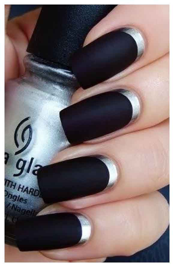 winter nail matte colour - Google Search | Nail arts | Pinterest ...